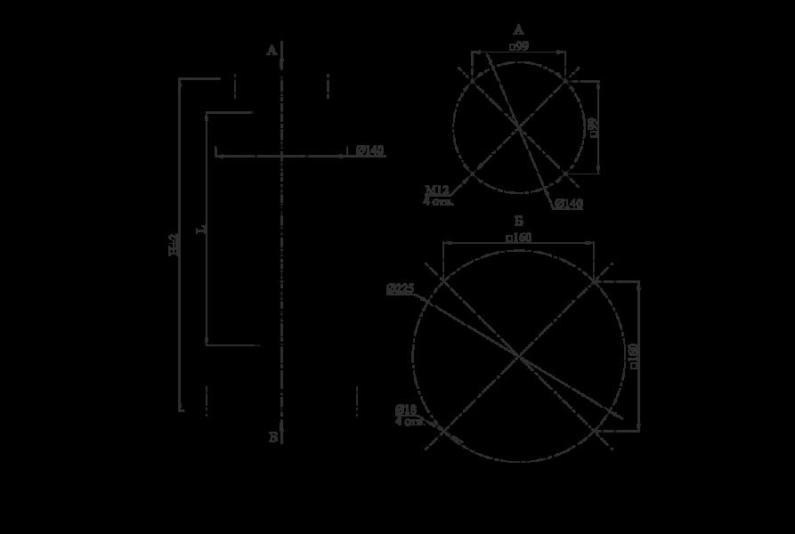 Изоляторы опорные полимерные типа ОСК 20-20-4 на напряжение 20 кВ
