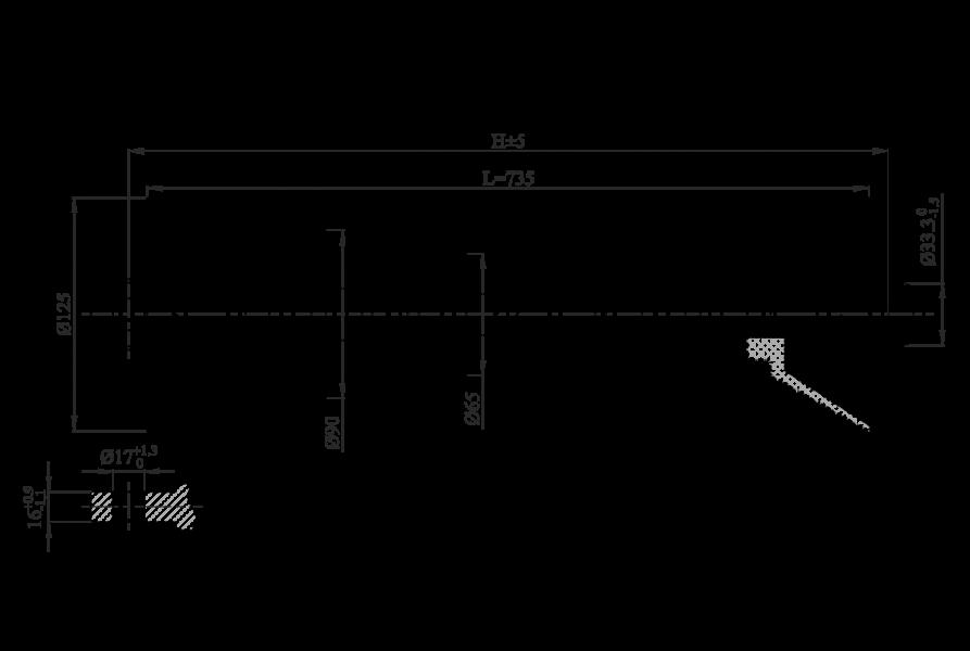 Изоляторы линейные натяжные полимерные птицезащищенные на напряжение 10-35 кВ типа ЛКПн