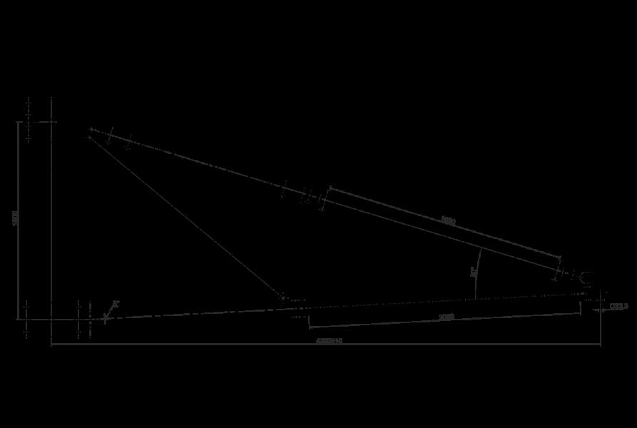 Траверсы изолирующие полимерные фиксированные на напряжение 220 кВ